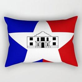 American cities-  Flag of San antonio Rectangular Pillow