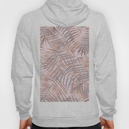 Shady rose gold palms Hoody