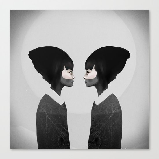 A Reflection Canvas Print