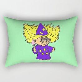 80s Russ Troll Doll Rectangular Pillow
