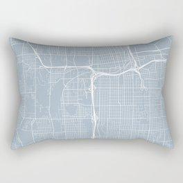 Tacoma Map, USA - Slate Rectangular Pillow
