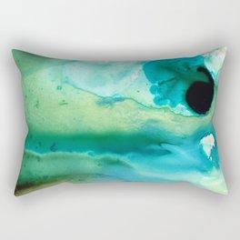 Peaceful Understanding - Abstract Art By Sharon Cummings Rectangular Pillow