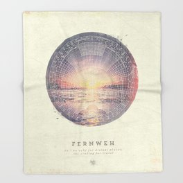 Fernweh Vol 5 Throw Blanket
