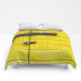 Yellow Compas Comforters