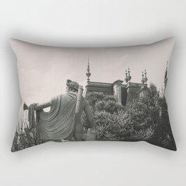 French Renaissance statue. Rectangular Pillow