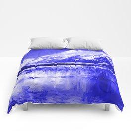 Glacier Bay Blue Comforters