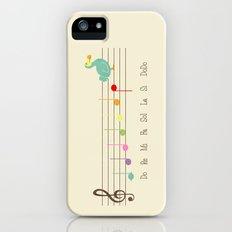 Music Lesson Slim Case iPhone (5, 5s)