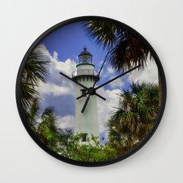 Saint Simonds Island Lighthouse Wall Clock