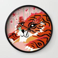 A sweet encounter Wall Clock
