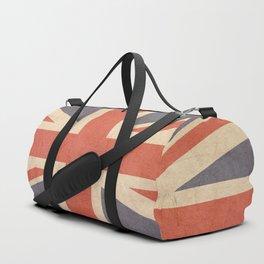 Antique British Flag 1 Duffle Bag