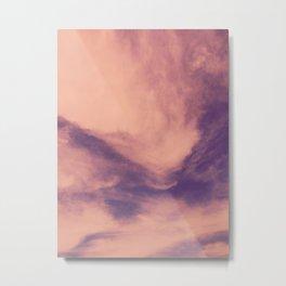 marbled clouds Metal Print