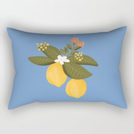 Lemon tree throw pillow Rectangular Pillow