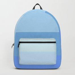 Blue Glass Pastel Stripe Backpack