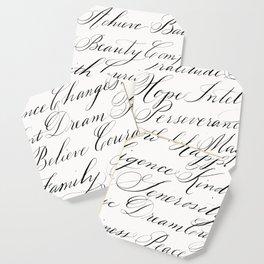 Inspirational Words II Coaster