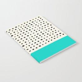 Aqua x Dots Notebook