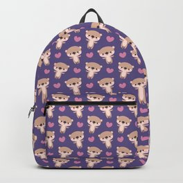 Kawaii otters Backpack