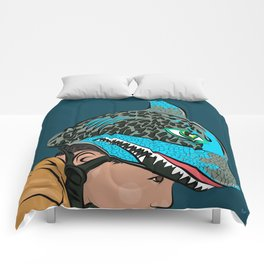The Shark Helmet Comforters
