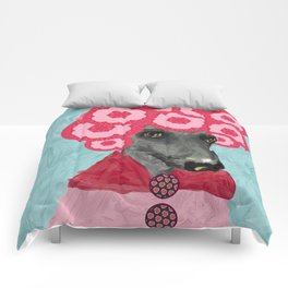 Frida in bloom Comforters