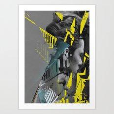 on accident Art Print