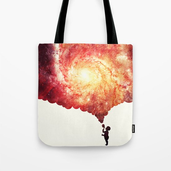 The universe in a soap-bubble! Tote Bag