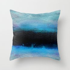 Watercolor/Abstract 4 Throw Pillow