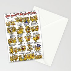 Happy Hyena Dance Stationery Cards