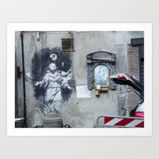 iconograffiti Art Print