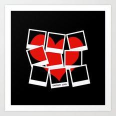Instant (Photography) Love Art Print