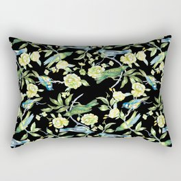 Botanical Tea Party Rectangular Pillow