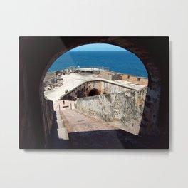 San Juan Puerto Rico  Metal Print