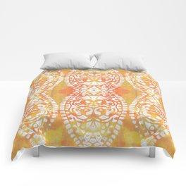 Gelatin Monoprint 4 Comforters