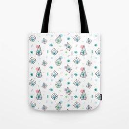 terrarium succulent cactus pattern Tote Bag