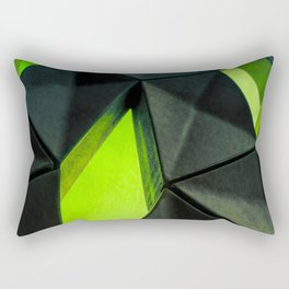 Dark Kryptonite by Brian Vegas Rectangular Pillow