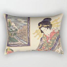 Geisha women Rectangular Pillow