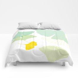 Gingko Leaves Comforters