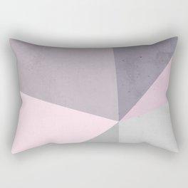 Desert Rose Palette Rectangular Pillow