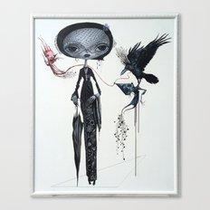 gothic kebaya Canvas Print