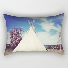 South Dakota. Tipi  Rectangular Pillow
