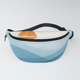 Blissful Boat Fanny Pack
