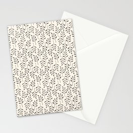 Botanical Mellow Smaller Pattern Stationery Cards