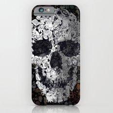 Doodle Skull iPhone 6s Slim Case
