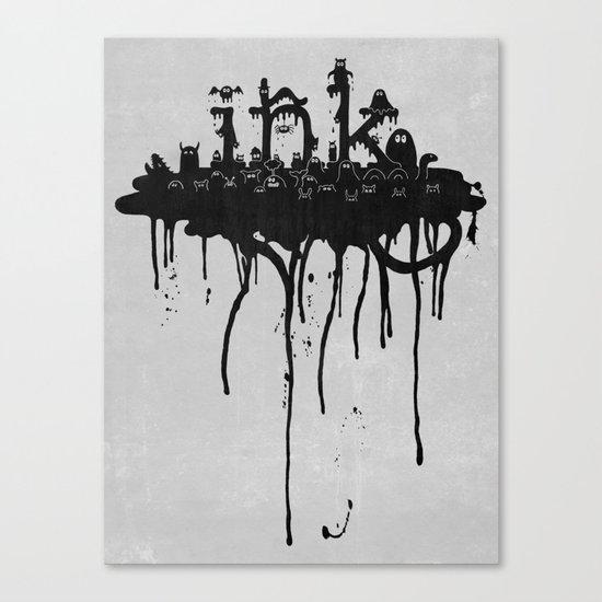 ink Canvas Print