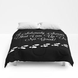 No Good Mischief Comforters