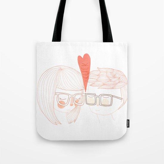 Nerd Kiss Tote Bag