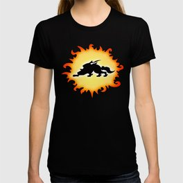 Amaterasu Logo- Black T-shirt