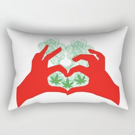 Weed Love Rectangular Pillow
