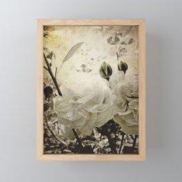 the cutting garden Framed Mini Art Print