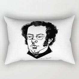 Franz Schubert Rectangular Pillow
