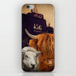 Sheep Cow 123 iPhone Skin
