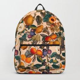 Vintage Fruit Pattern IX Backpack